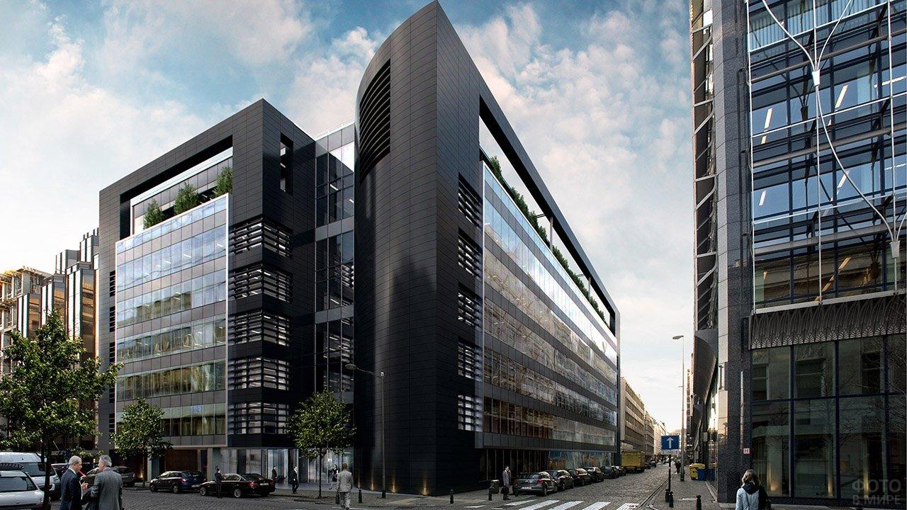 Офисное здание Чёрная жемчужина в Брюсселе
