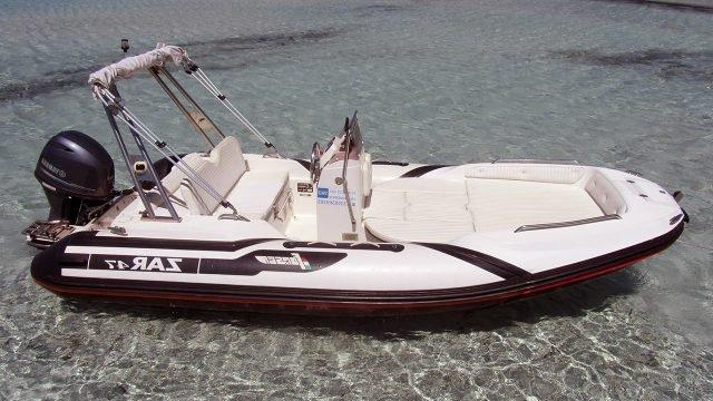 Шестиместная моторная лодка из ПВХ