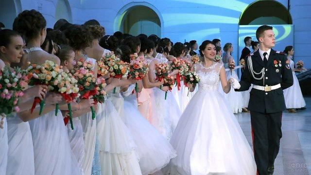 Губернаторский бал в Новочеркасске в честь Дня студентов