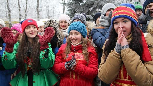Студенческие гуляния в Татьянин день в Ставрополе