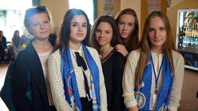 Студентки университета имени Плеханова в Татьянин день