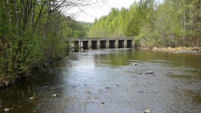 Мост через реку Большой Киалим