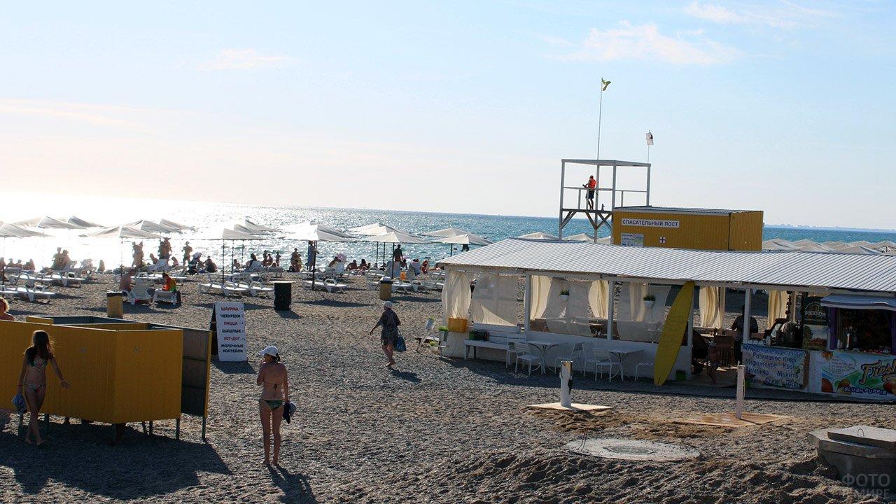 Новофёдоровский пляж в Крыму