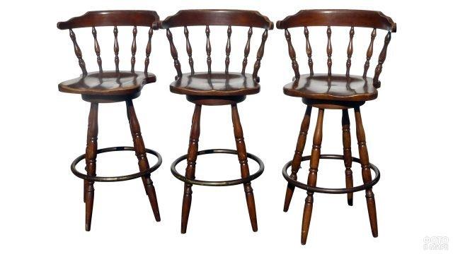 Барные стулья в винтажном французском стиле