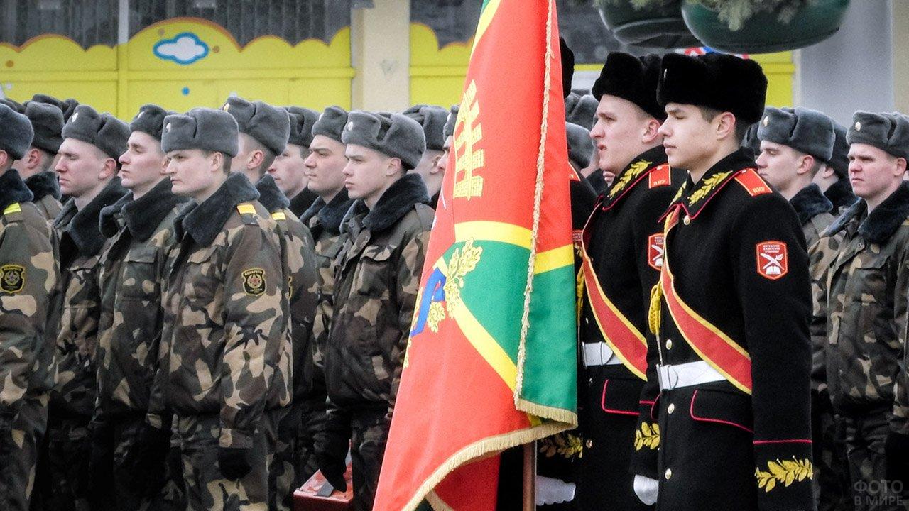 Витебский военный парад 23 февраля