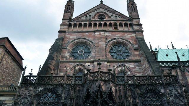 Фронтон Страсбургского собора