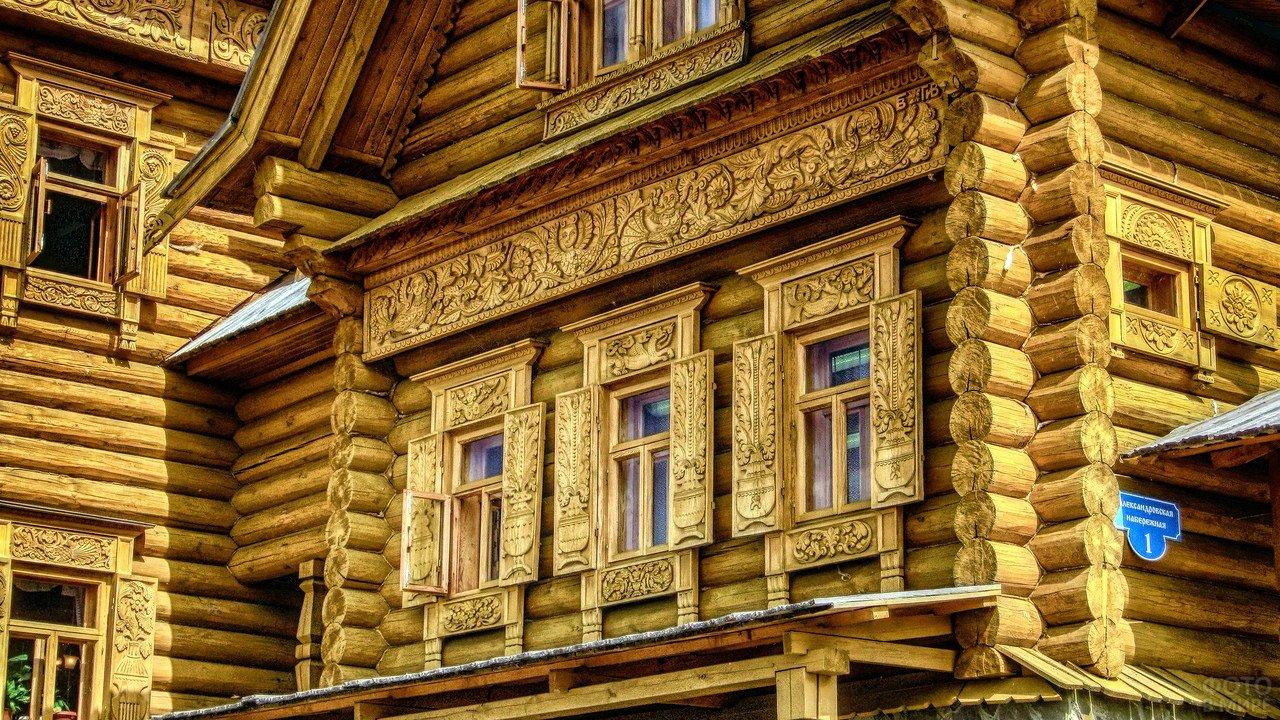 тут фото русских домов из дерева второе название которого