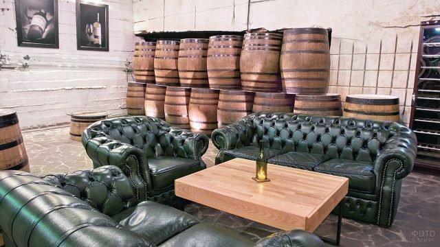 Дегустационный зал Инкерманского завода марочных вин