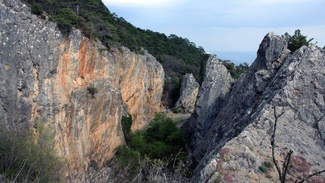 Никитская расщелина в Крыму