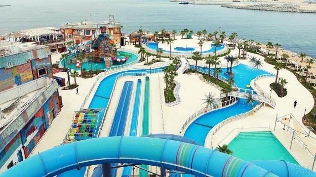 Роскошный аквапарк в Дубае