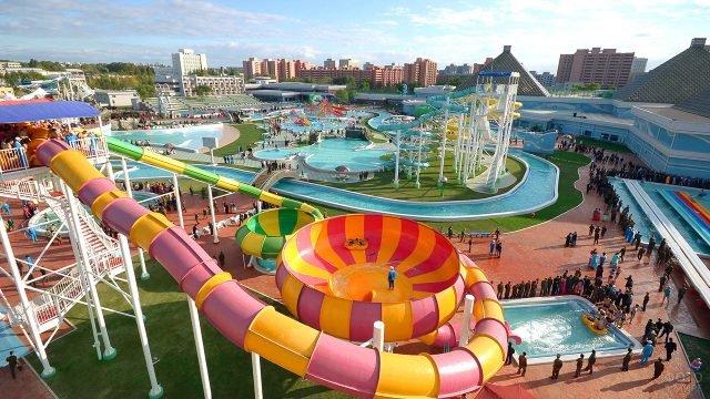 Современный аквапарк в Северной Корее