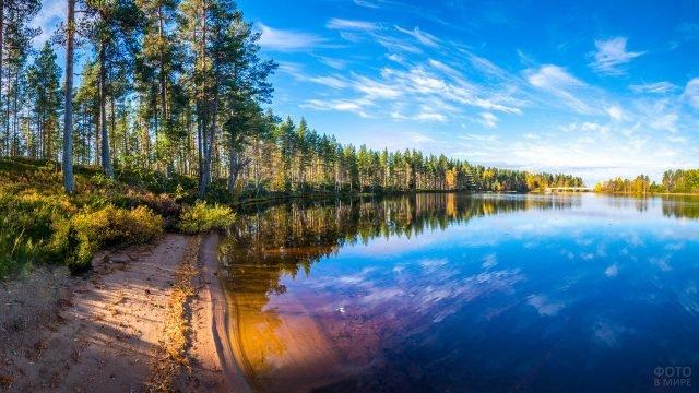 Прозрачная речная вода