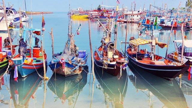 Национальная рыбацкая деревня на Самуи