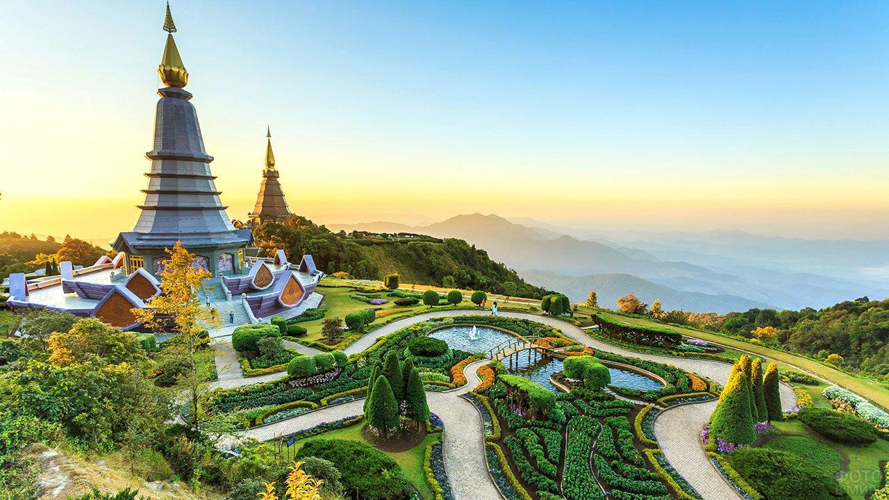 Пешие прогулки по национальному парку Чианг Май
