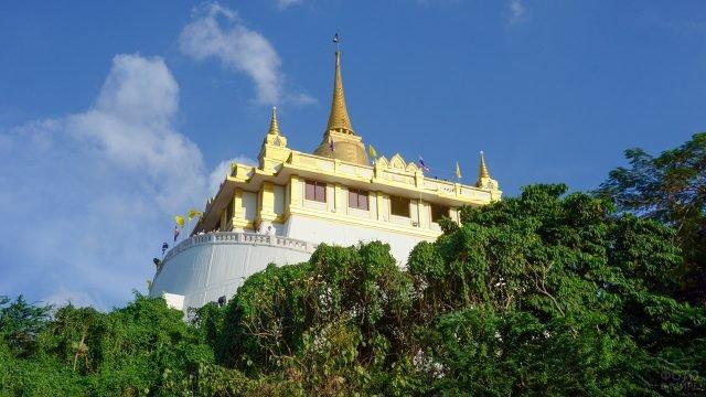 Ват Сакет - храм Золотой горы в Бангкоке