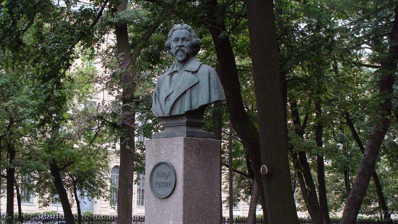 Бюст Ильи Репина в Санкт-Петербурге