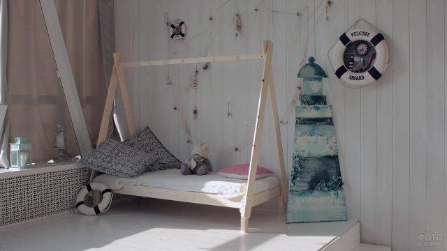 Детская кровать-вигвам из сосны