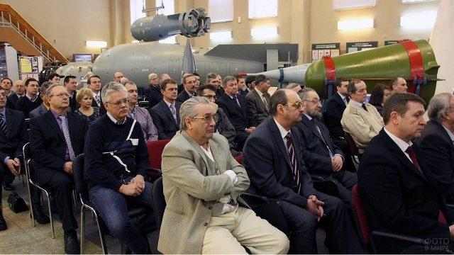 Празднование Дня российской науки в музее Сарова