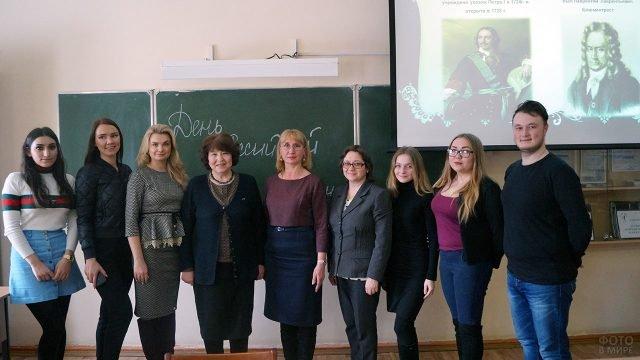Преподаватели и студенты Челябинского техникума в День российской науки