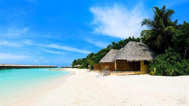 Бунгало на пляже Маджорда ан Гоа