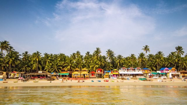 Один из 10 лучших пляжей в мире - Палолем на Гоа