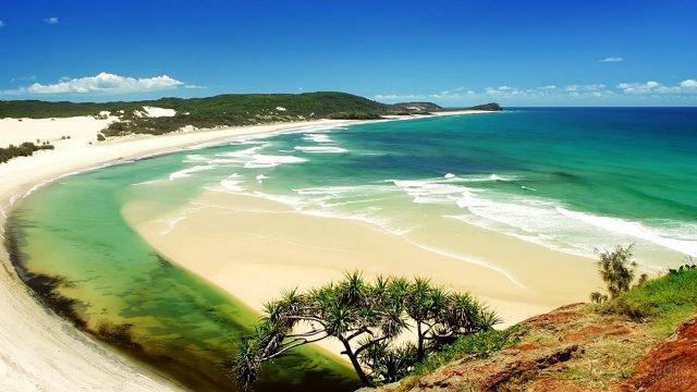 Восхитительный вид на пляж Гоа