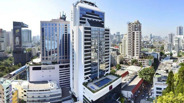 Эко-отель в Бангкоке с бассейном над крышами города