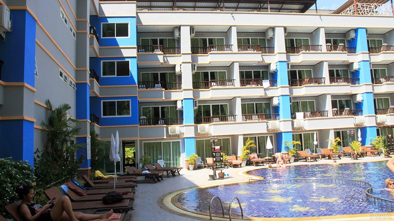 Трёхзвёздочный отель на пляже Ао Нанг курорта Краби