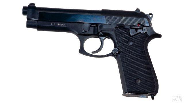 Пневматическая копия спортивного пистолета Глетчер