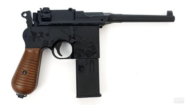 Пневматический пистолет на базе Маузера