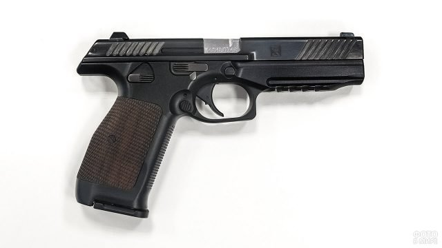 Прототип пистолета Лебедева ПЛ-14