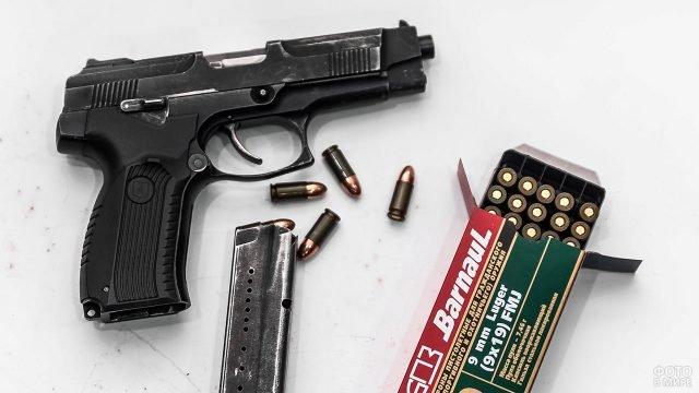 Спортивная версия пистолета Ярыгина - Викинг - для тира