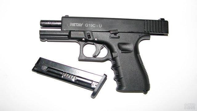 Стратовый пистолет Ретэй