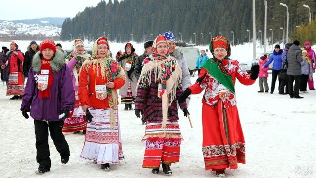 Республиканский праздник Масленица в Удмуртии