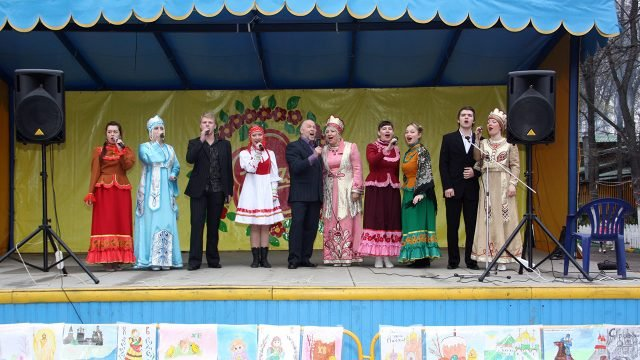 Городской концерт на Пасху в Нижнем Новгороде