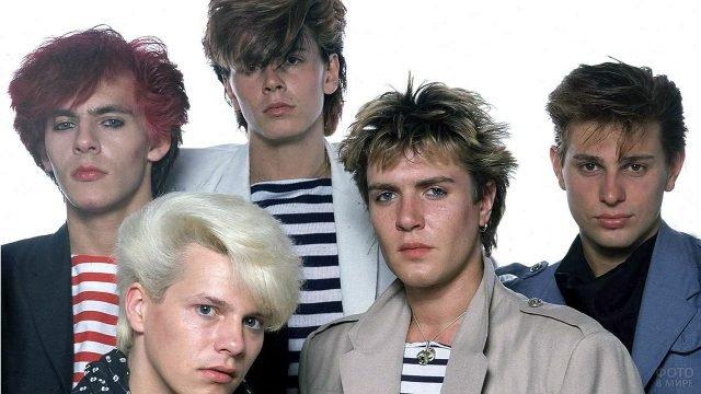 Популярные исполнители с модными стрижками в середине 80-х