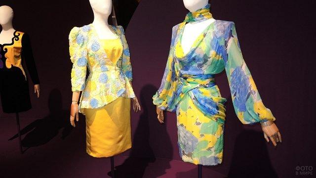 Женские костюмы из коллекции 1985 года