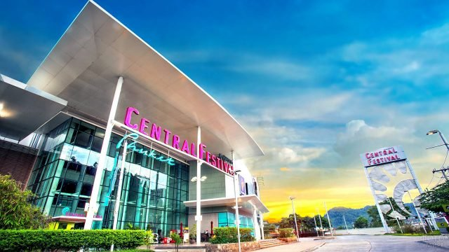 Торговый центр Централ Фестивал на Пхукете