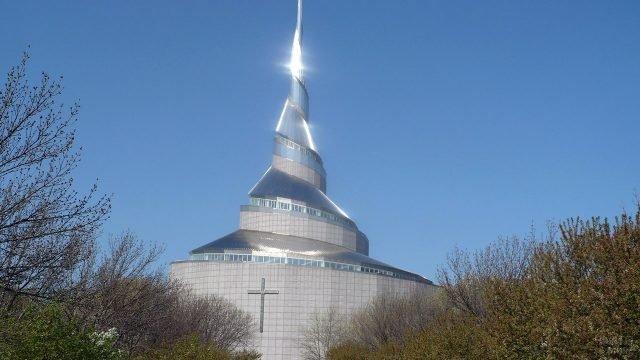 Мормонский храм в США
