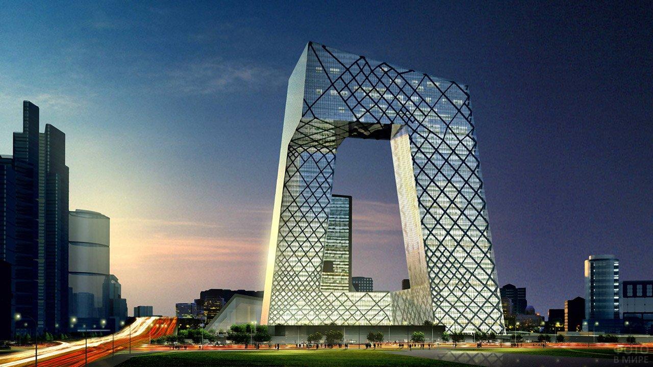 Штаб-квартира Центрального телевидения КНР в стиле хай-тек