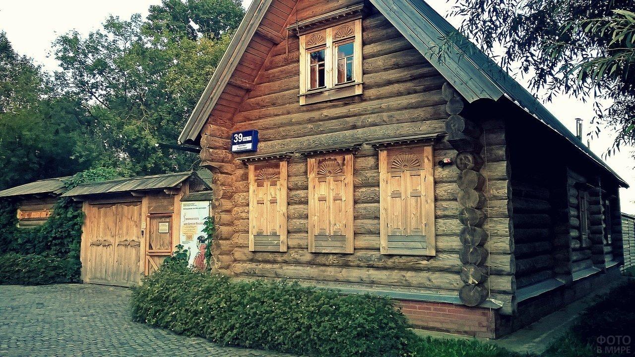 Русский деревенский дом