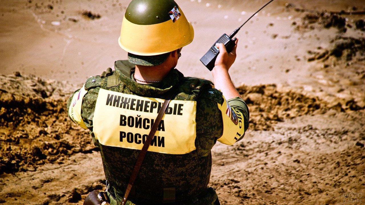 Участник конкурса Инженерных войск в Муроме
