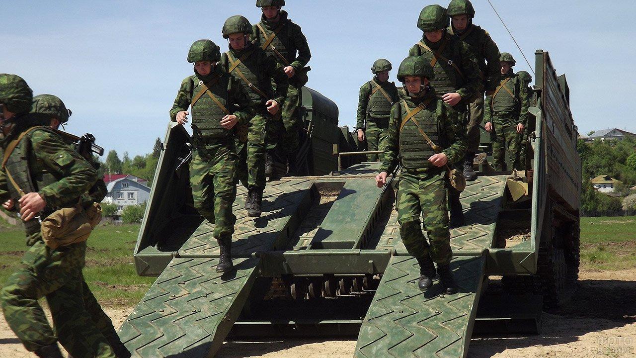 Учения офицерского состава Инженерных войск под Муромом