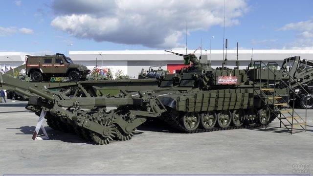 Военная техника для Инженерных войск России на международном форуме 2018 года