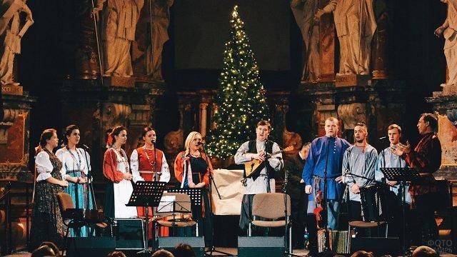 Музыкальный фестиваль Православное Рождество в Латвии