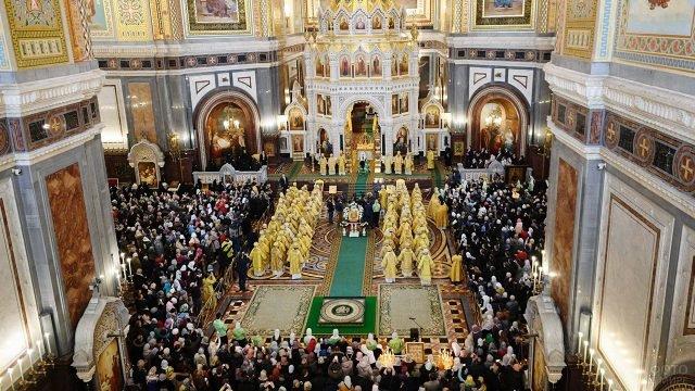 Рождественские чтения в Храме Христа Спасителя в Москве