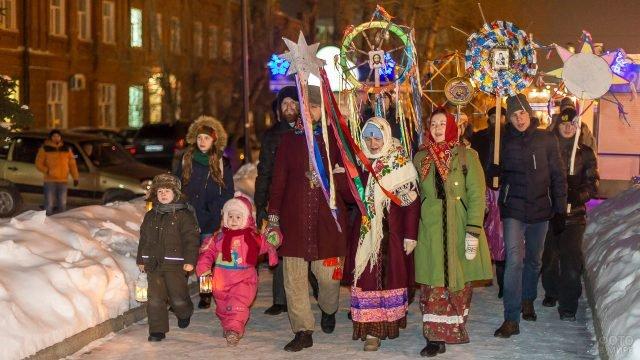 Рождественские колядки в Латвии