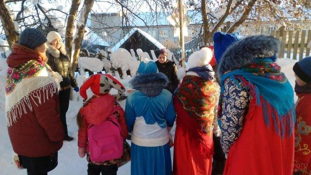 Рождественские колядки в Удмуртии