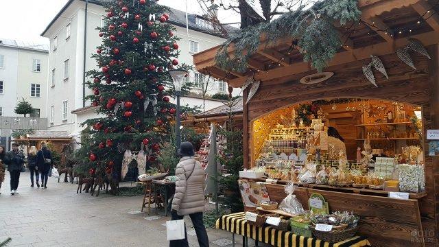 Рождественский базар в Зальцбурге