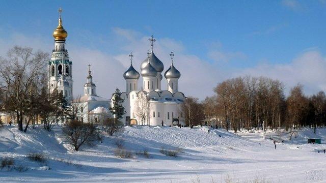 Рождественское утро в Вологде